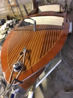 1950 17' Chris Craft Special Runabout with K engine for sale